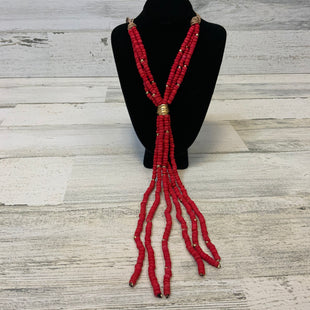 Primary Photo - BRAND: CHICOS O STYLE: NECKLACE COLOR: RED OTHER INFO: RED NBEADS SKU: 132-13260-14090