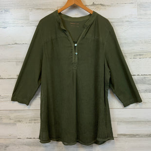 Primary Photo - BRAND: COLDWATER CREEK STYLE: TOP LONG SLEEVE COLOR: GREEN SIZE: 1X SKU: 132-13219-198666