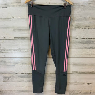 Primary Photo - BRAND: ADIDAS STYLE: ATHLETIC PANTS COLOR: GREY SIZE: XL SKU: 132-13219-198566