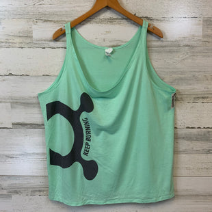 Primary Photo - BRAND: BELLA + CANVAS STYLE: ATHLETIC TANK TOP COLOR: GREEN SIZE: XL SKU: 132-13219-198435