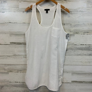 Primary Photo - BRAND: J CREW STYLE: TOP SLEEVELESS COLOR: WHITE SIZE: S SKU: 132-13219-198741