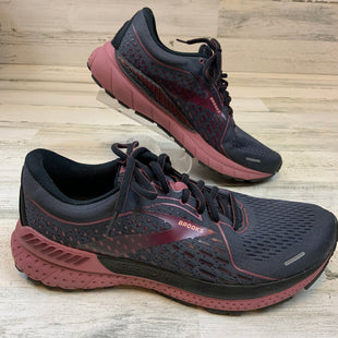 Primary Photo - BRAND: BROOKS STYLE: SHOES ATHLETIC COLOR: GREY SIZE: 11 OTHER INFO: GREY/PINK SKU: 132-13260-14199
