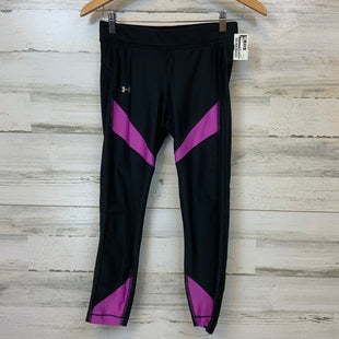 Primary Photo - BRAND: UNDER ARMOUR STYLE: ATHLETIC CAPRIS COLOR: BLACK SIZE: M SKU: 132-13219-196828