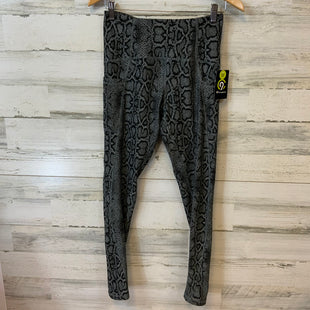 Primary Photo - BRAND: CHAMPION STYLE: ATHLETIC PANTS COLOR: BLACK SIZE: M OTHER INFO: SNAKESKIN PRINT, HIGH RISE, POCKETS SKU: 132-13288-20497