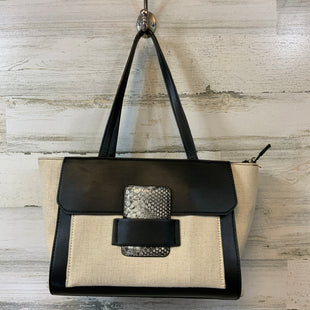 Primary Photo - BRAND:    CLOTHES MENTOR STYLE: HANDBAG COLOR: BLACK WHITE SIZE: MEDIUM SKU: 132-13262-40404