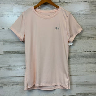 Primary Photo - BRAND: UNDER ARMOUR STYLE: ATHLETIC TOP SHORT SLEEVE COLOR: PEACH SIZE: M SKU: 132-13219-196825
