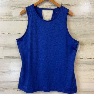 Primary Photo - BRAND: IDEOLOGY STYLE: ATHLETIC TANK TOP COLOR: BLUE SIZE: XL SKU: 132-13219-198132