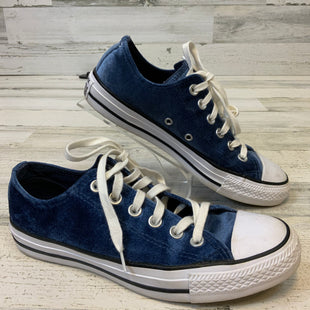 Primary Photo - BRAND: CONVERSE STYLE: SHOES FLATS COLOR: BLUE SIZE: 7 OTHER INFO: VELVET SKU: 132-13211-99954