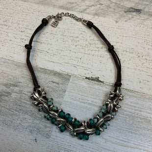 Primary Photo - BRAND:  UNO DE 50 STYLE: NECKLACE COLOR: GREEN OTHER INFO: UNO DE 50 7 IN LEATHER DROP - SKU: 132-13219-195371UNO DE 50 IS A COMPANY THAT ONLY MAKES 50 OF EACH OF THEIR JEWELRY STYLES, YOU'LL FEEL GOOD KNOWING THAT ONLY 50 OTHER PEOPLE IN THE WORLD HAVE ONE LIKE YOURS!