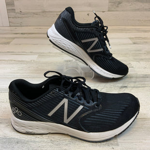 Primary Photo - BRAND: NEW BALANCE STYLE: SHOES ATHLETIC COLOR: BLACK WHITE SIZE: 10 SKU: 132-13260-14223