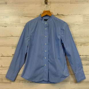 Primary Photo - BRAND: J CREW STYLE: BLOUSE COLOR: BLUE SIZE: S OTHER INFO: 6 SKU: 132-13219-198753