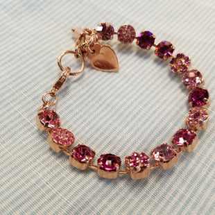 Primary Photo - BRAND: MARIANA STYLE: BRACELET COLOR: PINK OTHER INFO: 7 IN ROSE GOLD CHAIN SKU: 132-13228-164331