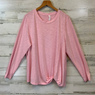 Primary Photo - BRAND: IDEOLOGY STYLE: ATHLETIC TOP COLOR: PINK SIZE: 1X SKU: 132-13219-198537