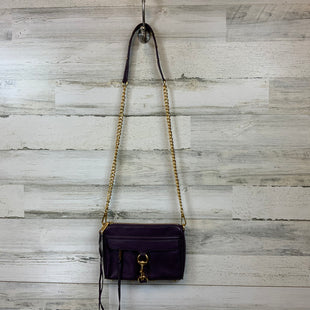 Primary Photo - BRAND: REBECCA MINKOFF STYLE: HANDBAG DESIGNER COLOR: PURPLE SIZE: SMALL OTHER INFO: 6X2X9 SKU: 132-13219-195998