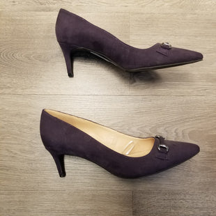 Primary Photo - BRAND: ANN TAYLOR O STYLE: SHOES LOW HEEL COLOR: PURPLE SIZE: 8.5 OTHER INFO: FAUX SUEDE SKU: 132-13288-19996