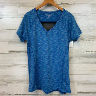 Primary Photo - BRAND: BEVERLY HILLS POLO CLUB STYLE: ATHLETIC TOP SHORT SLEEVE COLOR: BLUE SIZE: L SKU: 132-13262-38766