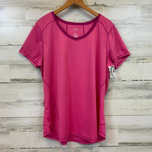 Primary Photo - BRAND: ST JOHNS BAY O STYLE: ATHLETIC TOP SHORT SLEEVE COLOR: PINK SIZE: XL OTHER INFO: QUICK-DRI SKU: 132-13262-39374