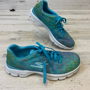 Primary Photo - BRAND: SKECHERS STYLE: SHOES ATHLETIC COLOR: BLUE SIZE: 7 SKU: 132-13219-198341