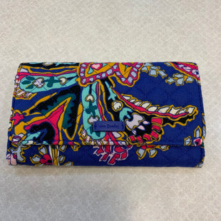 Primary Photo - BRAND: VERA BRADLEY CLASSIC STYLE: WALLET COLOR: BLUE SIZE: MEDIUM SKU: 132-13219-197079