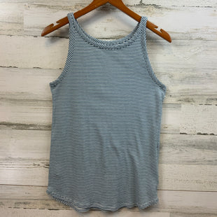 Primary Photo - BRAND: ANN TAYLOR LOFT STYLE: TANK BASIC CAMI COLOR: BLUE AND WHITESIZE: L SKU: 132-13288-13667