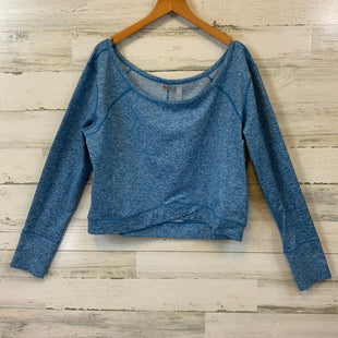Primary Photo - BRAND: ZELLA STYLE: ATHLETIC TOP COLOR: BLUE SIZE: L SKU: 132-13288-20690CROPPED