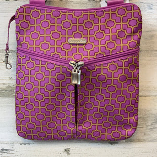 Primary Photo - BRAND: BAGGALLINI STYLE: HANDBAG COLOR: PURPLE SIZE: MEDIUM SKU: 132-13262-3042511 BY 10 BY ONE HAS THREE ZIPPERED EXTERIOR POCKETS. INTERIOR HAS CARD HOLDERS IN ANOTHER ZIPPERED POCKET.