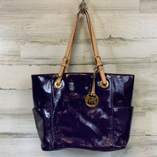 Primary Photo - BRAND: MICHAEL KORS STYLE: HANDBAG DESIGNER COLOR: PURPLE SIZE: MEDIUM MEASUREMENTS: 12.5X6.25X10X5SKU: 132-13219-197426