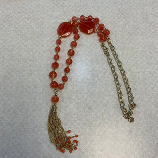 Primary Photo - BRAND: TALBOTS STYLE: NECKLACE COLOR: ORANGE OTHER INFO: GOLD SKU: 132-13219-197061