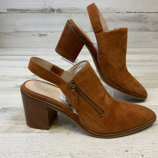 Primary Photo - BRAND: COLE-HAAN STYLE: SHOES LOW HEEL COLOR: BROWN SIZE: 9.5 SKU: 132-13262-39555