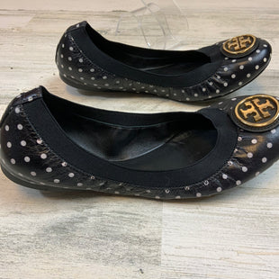 Primary Photo - BRAND: TORY BURCH STYLE: SHOES FLATS COLOR: BLACK WHITE SIZE: 8 OTHER INFO: POLKA DOT CAROLINE SKU: 132-13288-20214