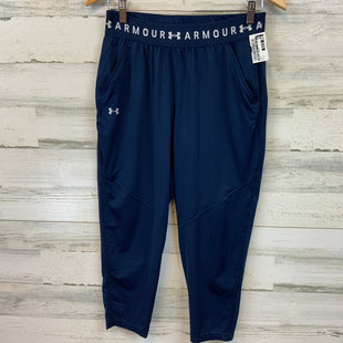 Primary Photo - BRAND: UNDER ARMOUR STYLE: ATHLETIC CAPRIS COLOR: BLUE SIZE: S SKU: 132-13219-198040