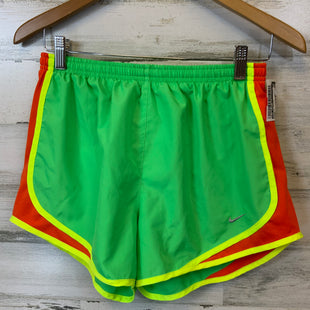 Primary Photo - BRAND: NIKE APPAREL STYLE: ATHLETIC SHORTS COLOR: GREEN SIZE: M OTHER INFO: LINED SKU: 132-13262-38477
