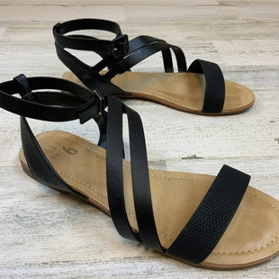 Primary Photo - BRAND: MIX NO 6 STYLE: SANDALS FLAT COLOR: BLACK SIZE: 8 SKU: 132-13228-165552