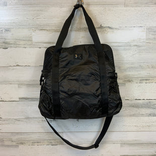 Primary Photo - BRAND: UNDER ARMOUR STYLE: TOTE COLOR: BLACK SIZE: LARGE MEASUREMENTS: 16.5 X 5.5 X 15SKU: 132-13262-40309