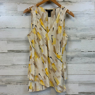 Primary Photo - BRAND: WHITE HOUSE BLACK MARKET STYLE: TOP SLEEVELESS COLOR: YELLOW SIZE: S SKU: 132-13219-198769