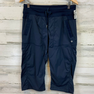Primary Photo - BRAND: LULULEMON STYLE: ATHLETIC CAPRIS COLOR: BLUE SIZE: 8 SKU: 132-13219-198217