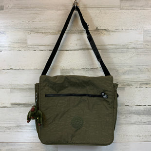 Primary Photo - BRAND: KIPLING STYLE: TOTE COLOR: GREEN SIZE: LARGE OTHER INFO: 14X15X3 MESSENGER BAG SKU: 132-13219-196926