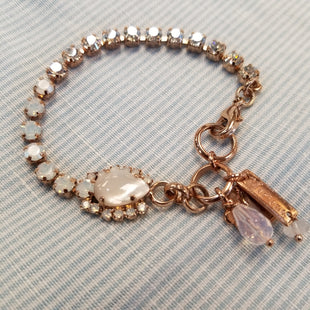 Primary Photo - BRAND: MARIANA STYLE: BRACELET COLOR: WHITE OTHER INFO: 7 IN ROSE GOLD CHAIN SKU: 132-13228-164328