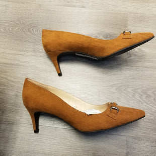 Primary Photo - BRAND: ANN TAYLOR O STYLE: SHOES LOW HEEL COLOR: BROWN SIZE: 8.5 SKU: 132-13288-19997