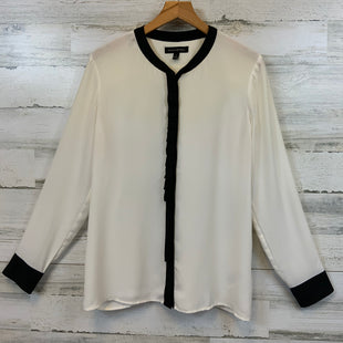 Primary Photo - BRAND: BANANA REPUBLIC STYLE: BLOUSE COLOR: CREAM SIZE: S SKU: 132-13219-198746
