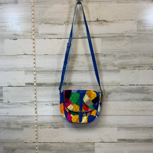 Primary Photo - BRAND: VERA BRADLEY CLASSIC STYLE: HANDBAG COLOR: BLUE SIZE: SMALL MEASUREMENTS: 10X 8X 2.5SKU: 132-13219-190983