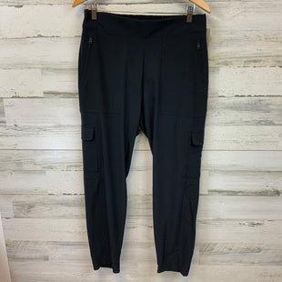 Primary Photo - BRAND: ATHLETA STYLE: ATHLETIC PANTS COLOR: BLACK SIZE: L OTHER INFO: 12 CARGO POCKETS SKU: 132-13288-20883