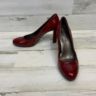 Primary Photo - BRAND: CALVIN KLEIN STYLE: SHOES HIGH HEEL COLOR: RED SIZE: 7.5 OTHER INFO: PATENT SKU: 132-13248-9022