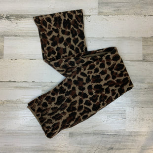 Primary Photo - BRAND: J CREW O STYLE: SCARF WINTER COLOR: ANIMAL PRINT SKU: 132-13288-14991