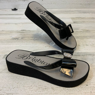 Primary Photo - BRAND: BRIGHTON STYLE: FLIP FLOPS COLOR: BLACK SIZE: 6 SKU: 132-13219-198339