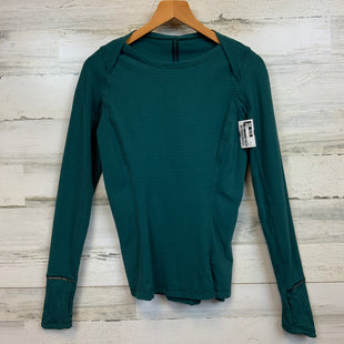Primary Photo - BRAND: LULULEMON STYLE: ATHLETIC TOP COLOR: GREEN SIZE: 4 SKU: 132-13219-198038