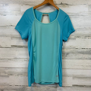 Primary Photo - BRAND: MARIKA TEK STYLE: ATHLETIC TOP SHORT SLEEVE COLOR: BLUE SIZE: XL SKU: 132-13262-37871