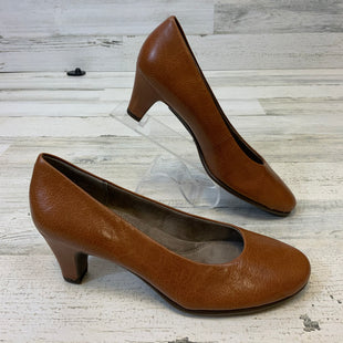 Primary Photo - BRAND: AEROSOLES STYLE: SHOES LOW HEEL COLOR: BROWN SIZE: 7 SKU: 132-13219-198471
