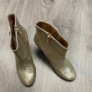 Primary Photo - BRAND: VINCE CAMUTO STYLE: BOOTS ANKLE COLOR: GOLD SIZE: 6.5 SKU: 132-13281-13866