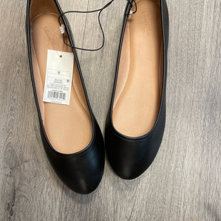Primary Photo - BRAND: UNIVERSAL THREAD STYLE: SHOES FLATS COLOR: BLACK SIZE: 9.5 SKU: 132-13211-99555